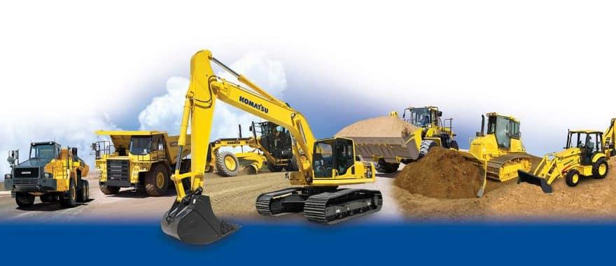 Komatsu Heavy Equipment Machines