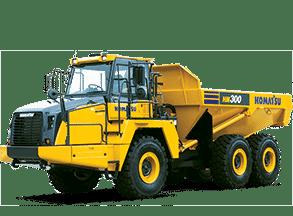 Komatsu Heavy Equipment Trucks