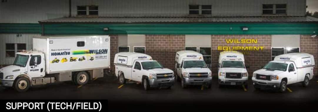 Wilson Heavy Equipment Support Technicians