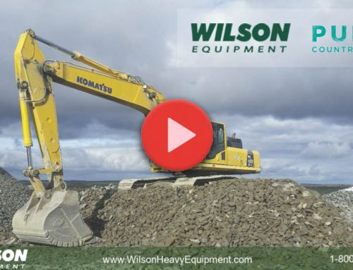 Wilson Equipment has hit the airwaves with a brand new radio commercial on Pure Country 99.5!