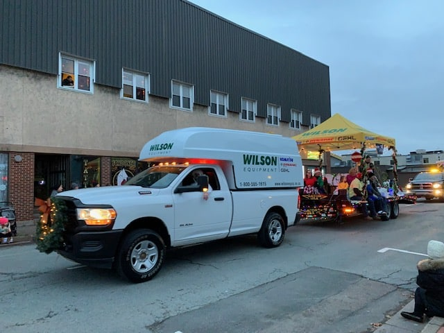 Wilson Equipment Santa Parade
